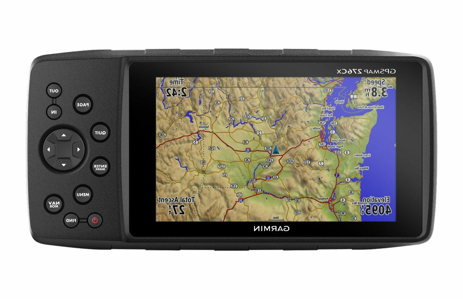 gpsmap 276cx terrain gps navigator