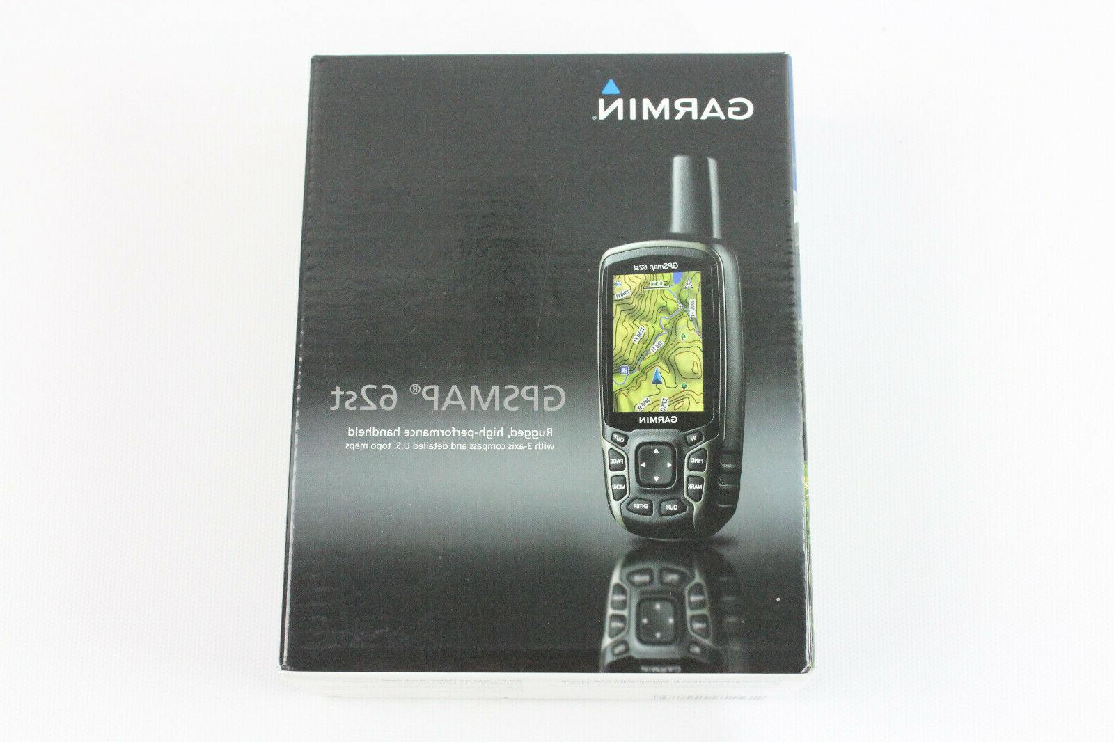 Garmin GPSMAP 62st Handheld GPS Tested Working