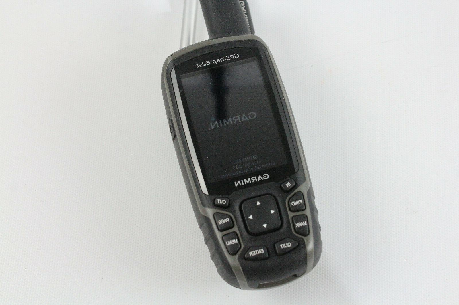 Garmin GPSMAP 62st GPS Unit & Working