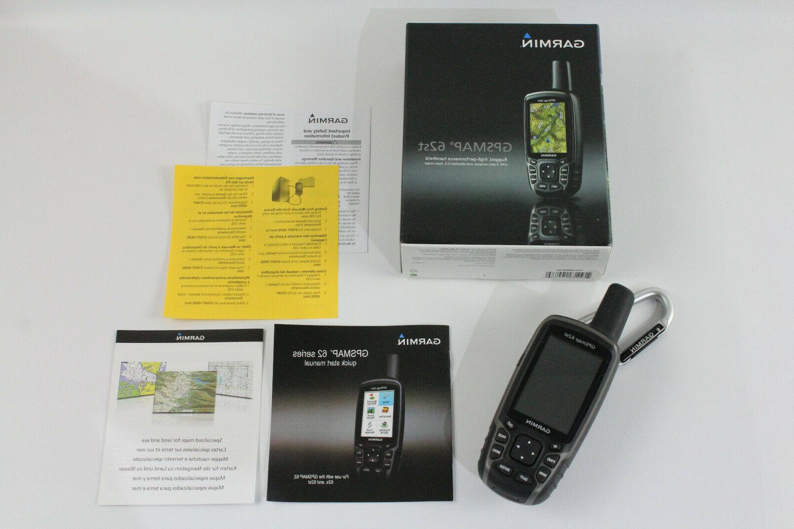 gpsmap 62st handheld gps unit tested