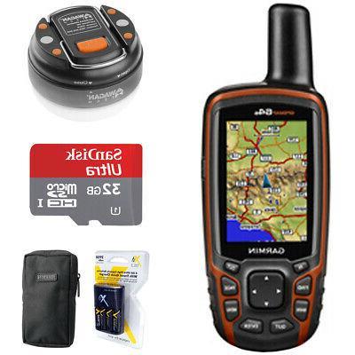 gpsmap 64s worldwide handheld gps with 32gb