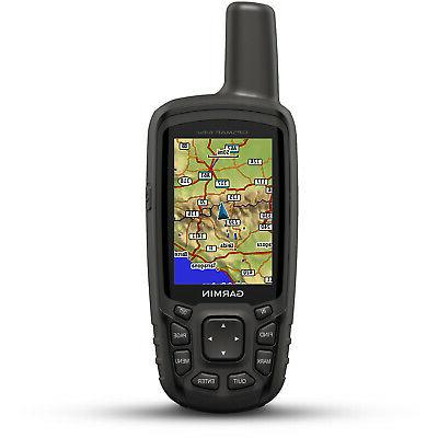 gpsmap 64sc handheld gps with 1 year