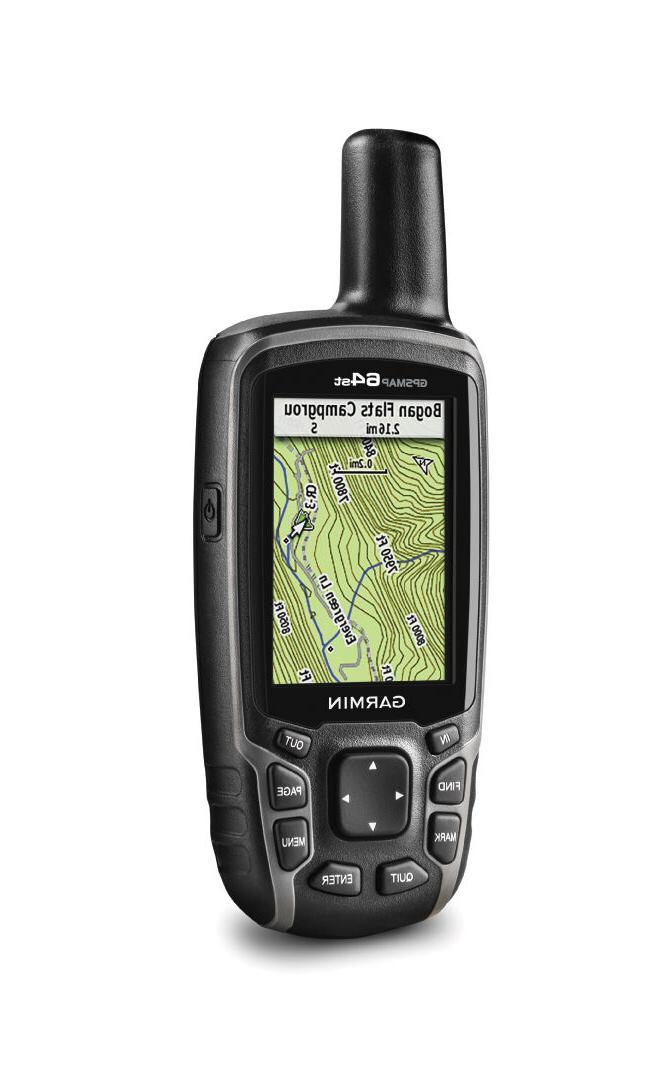 Garmin GPSMAP 64st Handheld GPS with U.S.