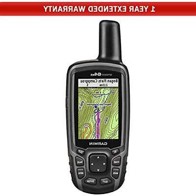 gpsmap 64st worldwide handheld gps 1 year