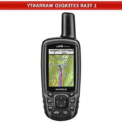 gpsmap 64st worldwide handheld gps 1 year