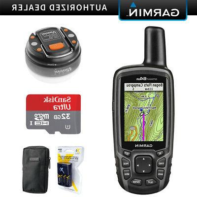 gpsmap 64st worldwide handheld gps with 32gb