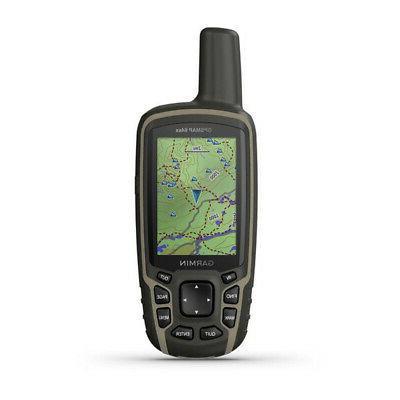 gpsmap 64sx handheld gps with navigation sensors