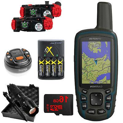gpsmap 64x handheld gps with preloaded usa