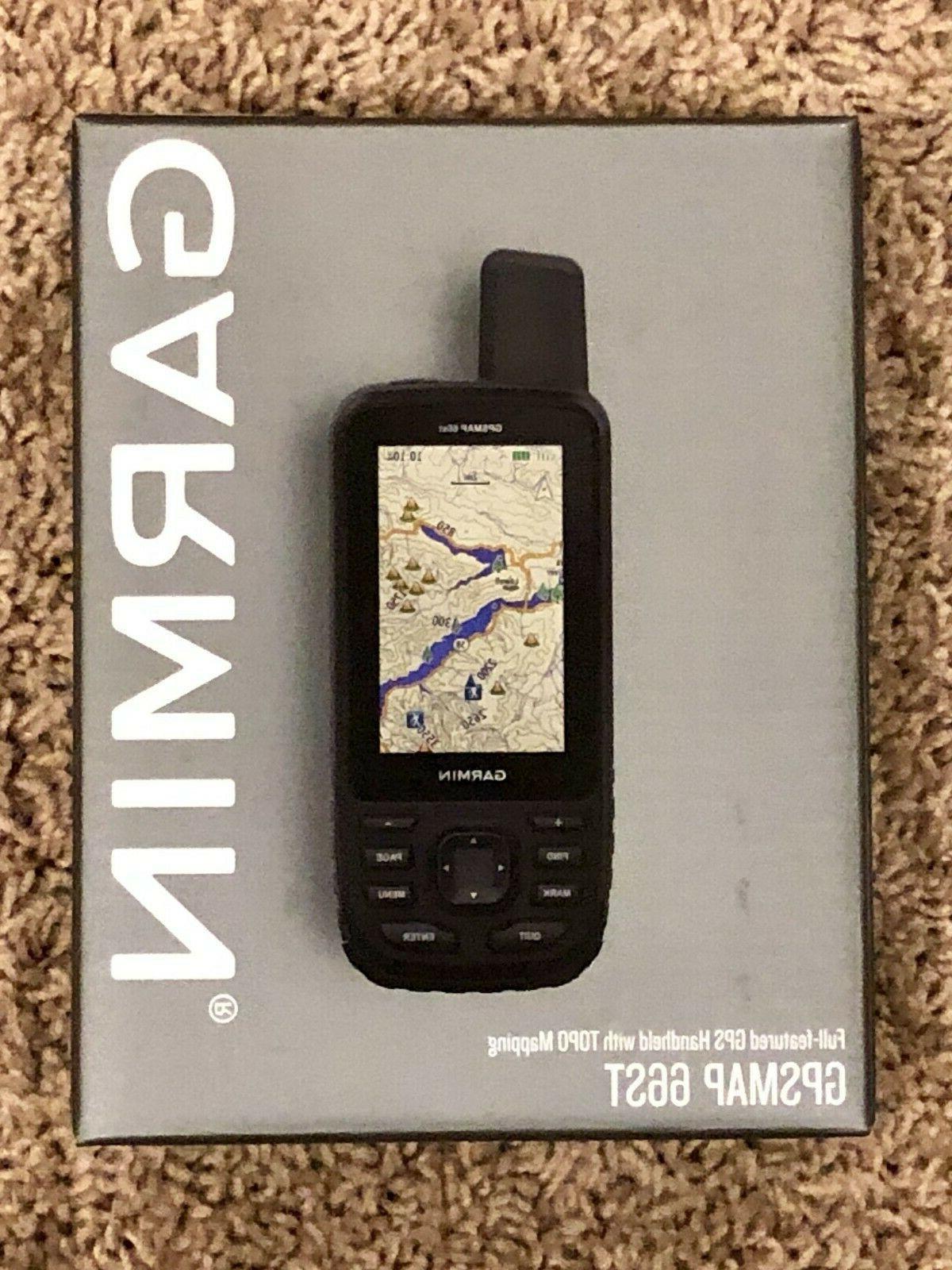 gpsmap 66st handheld hiking gps w 3