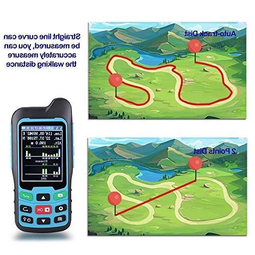 BEVA Handheld GLONASS BEIDOU Length Area & Distance Track Multifunctional Measuring