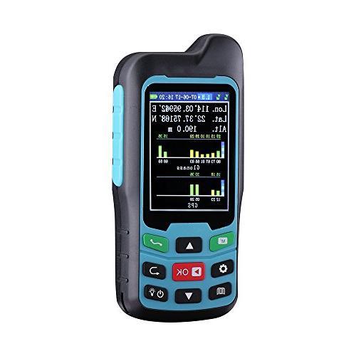 BEVA Handheld GPS GLONASS BEIDOU Area Calculation Area & Distance Measurement,Figure Track Multifunctional