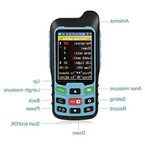 Te-Rich Handheld GPS Land Meter