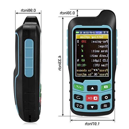 Te-Rich Handheld Land Measurer Meter