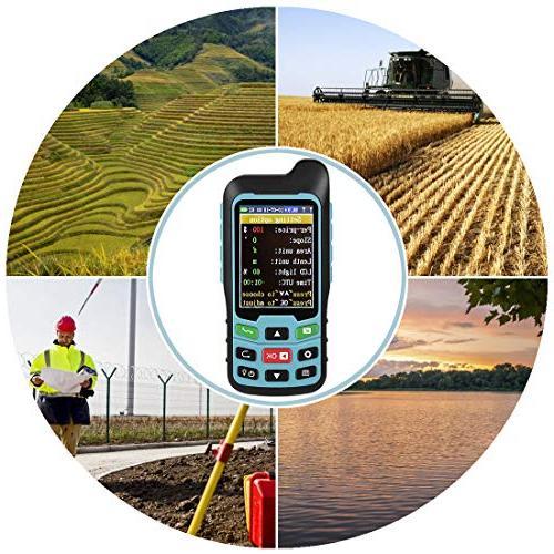 Te-Rich Handheld GPS Land Area Measurer Meter