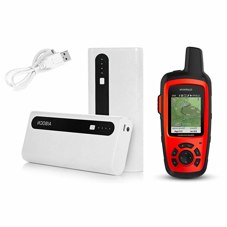 inreach explorer handheld with aibocn portable battery