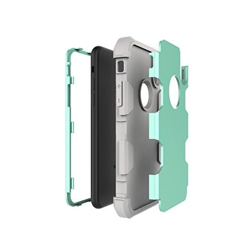 iPhone 3 1 PC+ Combo High Hybrid Layer Impact Full-Body Protection Cover iPhone X