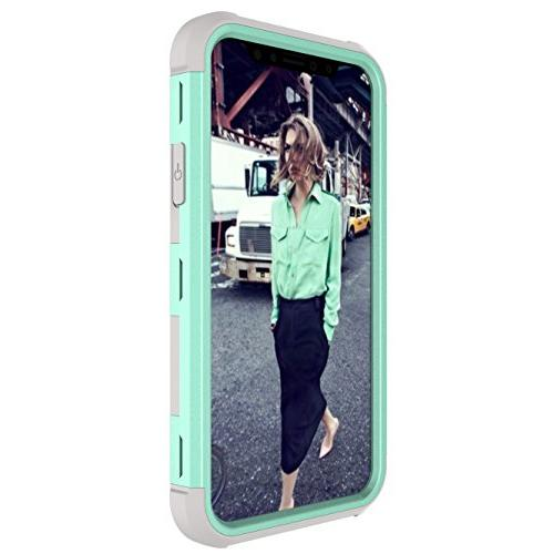 iPhone Case, 3 PC+ High Hybrid Dual Impact Full-Body Cover X