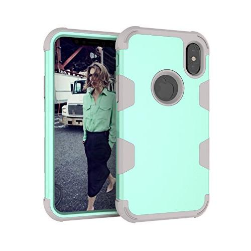 iPhone X Case, KMISS 3 1 Hard PC+ High Hybrid Layer Impact Full-Body Cover for X Release