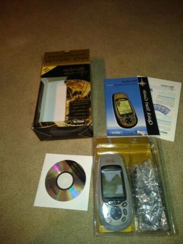 meridian gold handheld gps receiver hiking camping