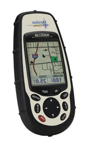 meridian handheld gps navigator