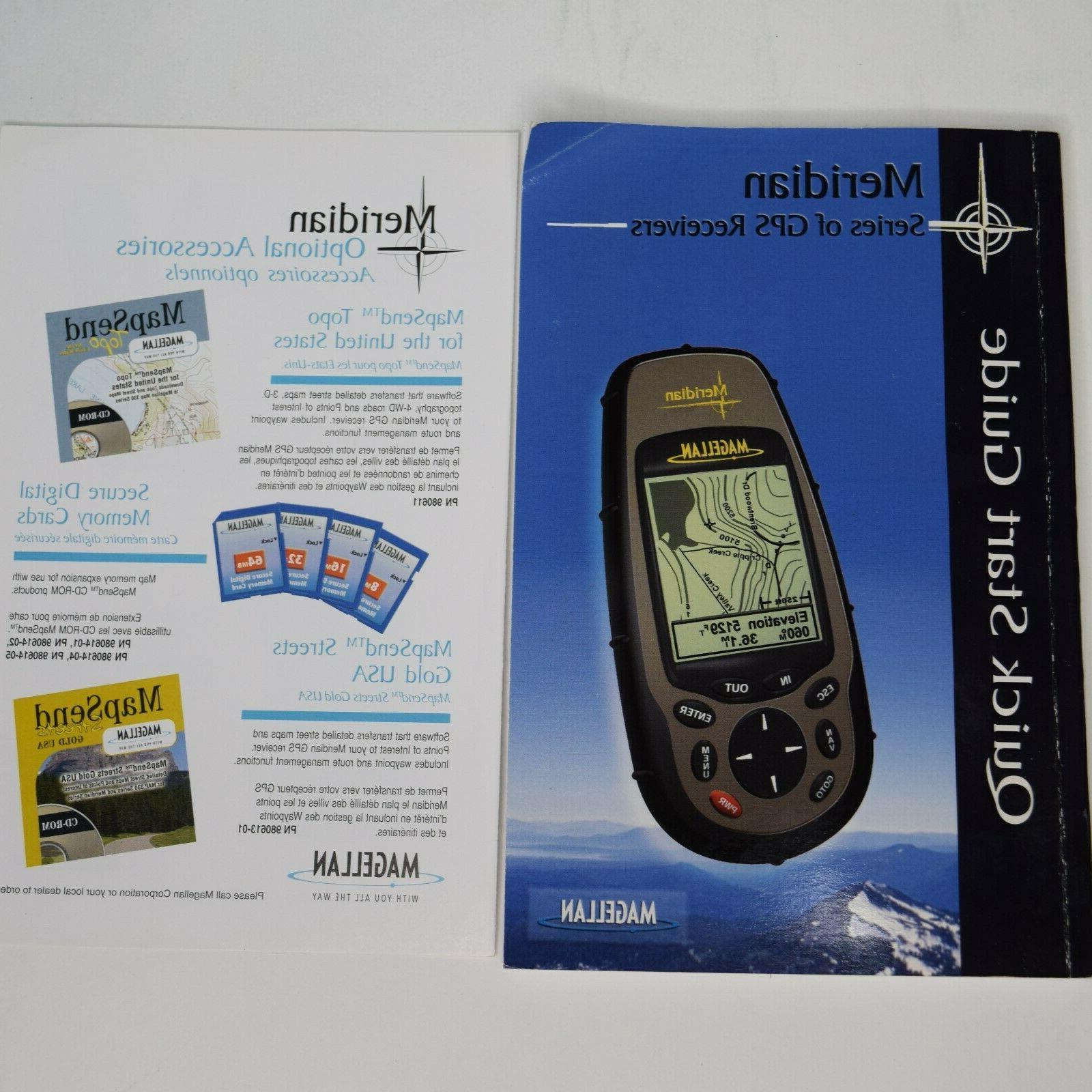 Magellan Meridian Series Hiking Waterproof GPS Tracker New
