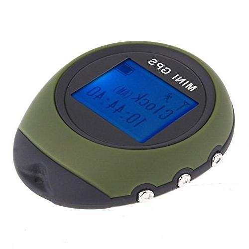 Ugetde Portable GPS with for Outdoor Location Camping/Hiking/Climbing