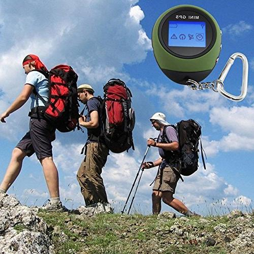 GPS with Keychain for Outdoor Location Finder