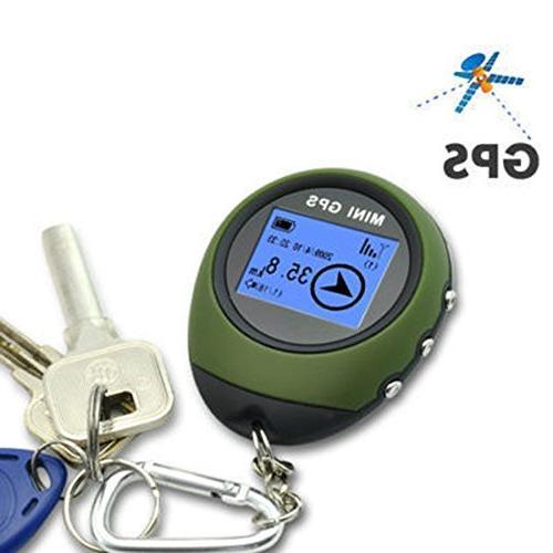 Ugetde Portable GPS Keychain for Location Finder