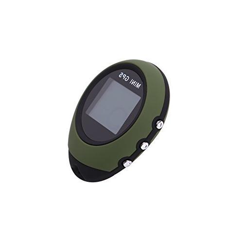 VGEBY Mini GPS Tracker Locator, Waterproof GPS Navigator Hiking Camping Exploration