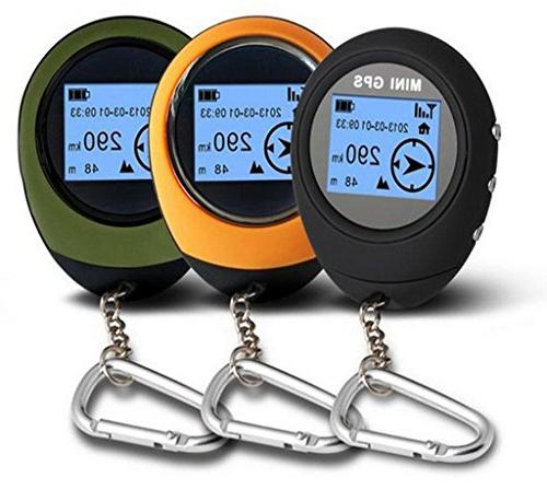 Winterworm Outdoor Portable GPS Finder Matrix Display For Hiking Geoaching Wild Exploration
