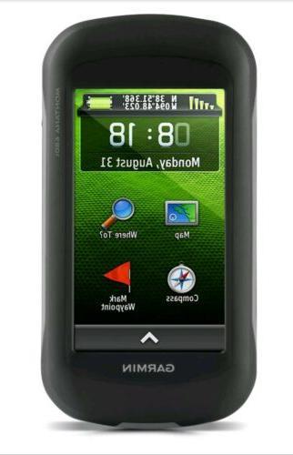 montana 680t glonass handheld 8 mp camera