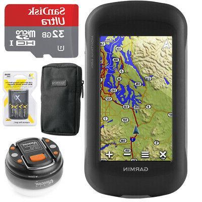 Garmin Montana 680t Handheld GPS - 010-01534-11 with 32GB Ul
