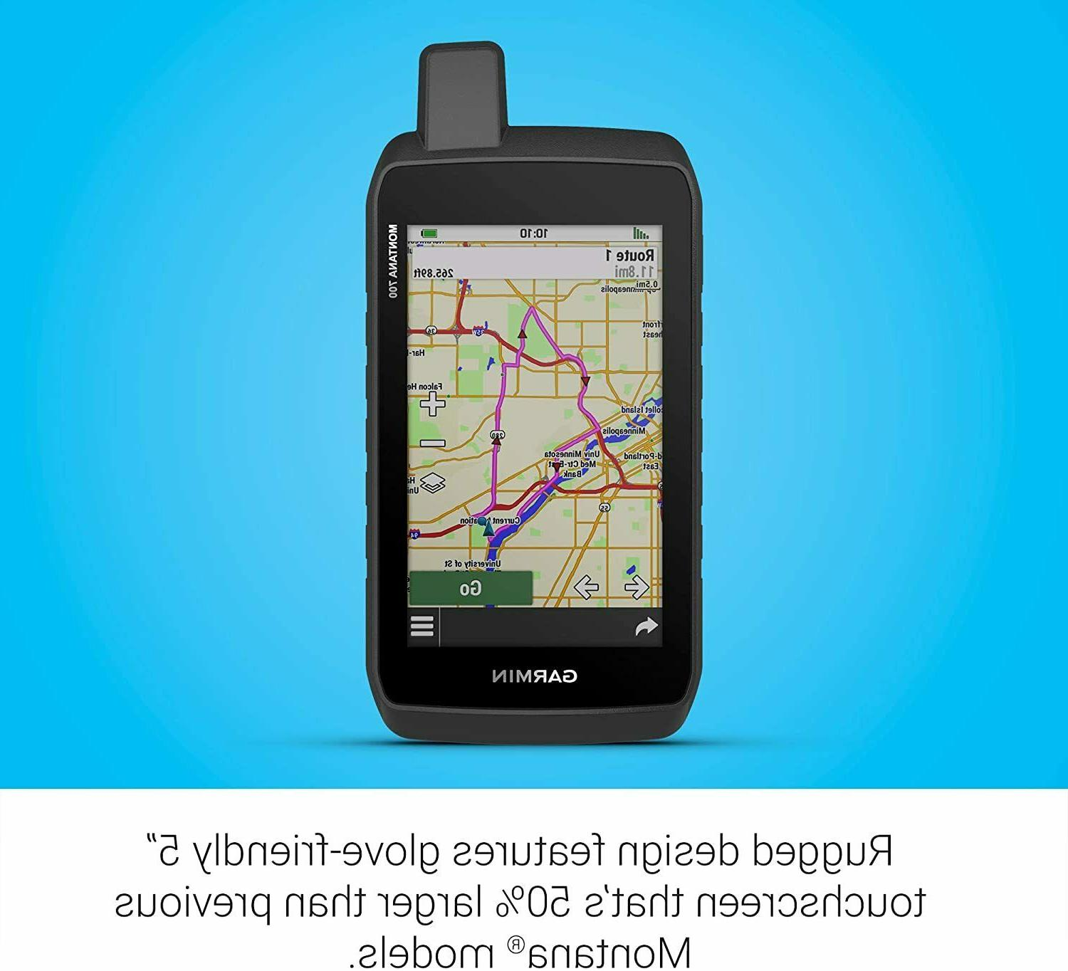 Garmin GPS Glove-Friendly