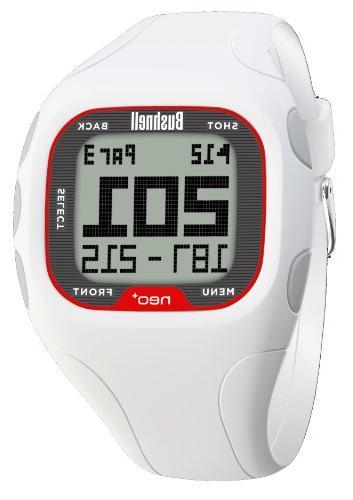 Bushnell Rangefinder Watch, White