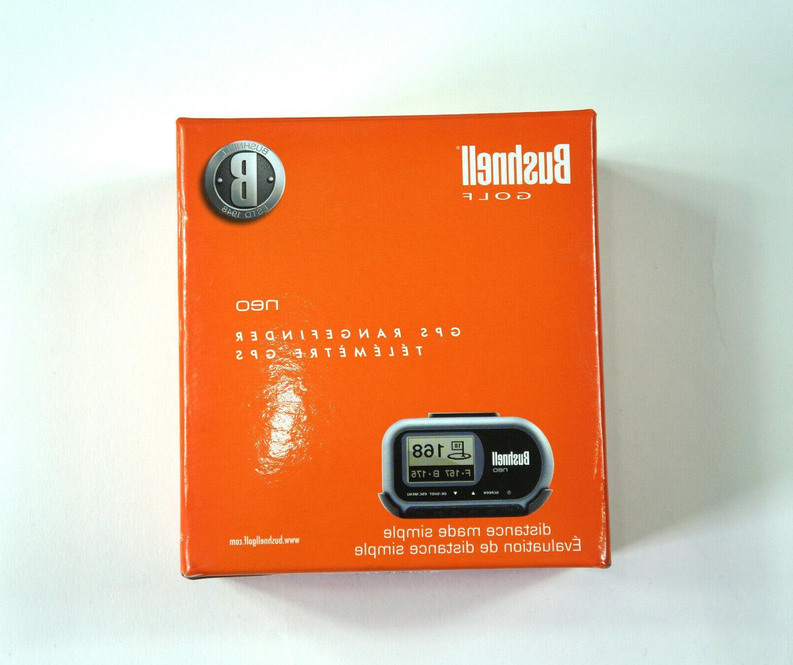 neo golf rangefinder 368050 handheld gps