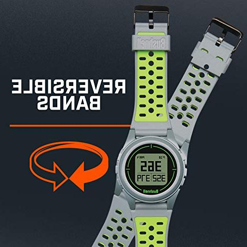 Bushnell Golf Watch, Silver/Green