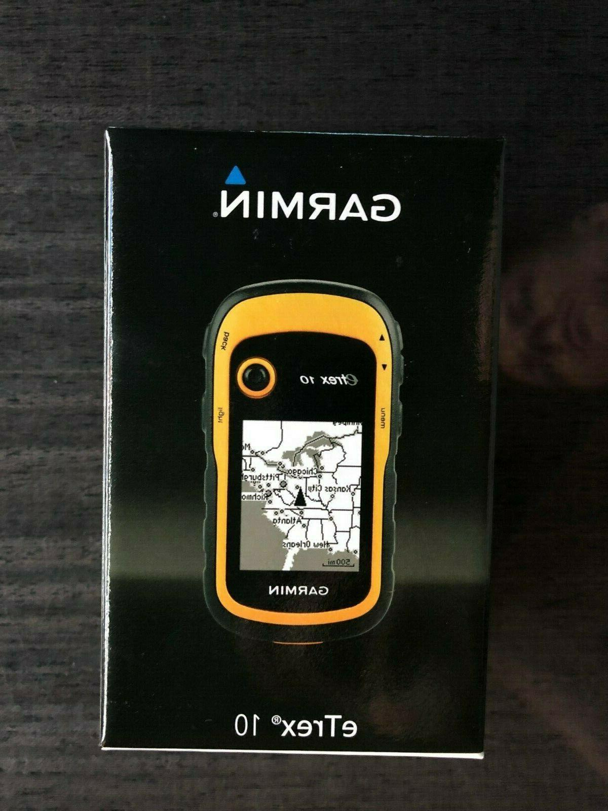 new etrex 10 worldwide handheld gps navigator