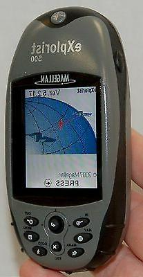 NEW Magellan eXplorist 500 Handheld GPS Unit Portable Waterp