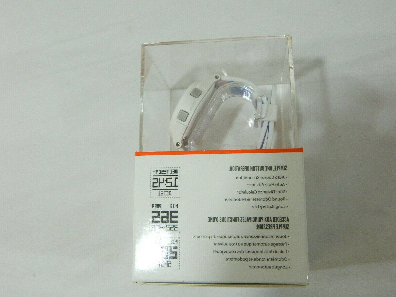 New iON - White - GPS Rangefinder Watch Golf