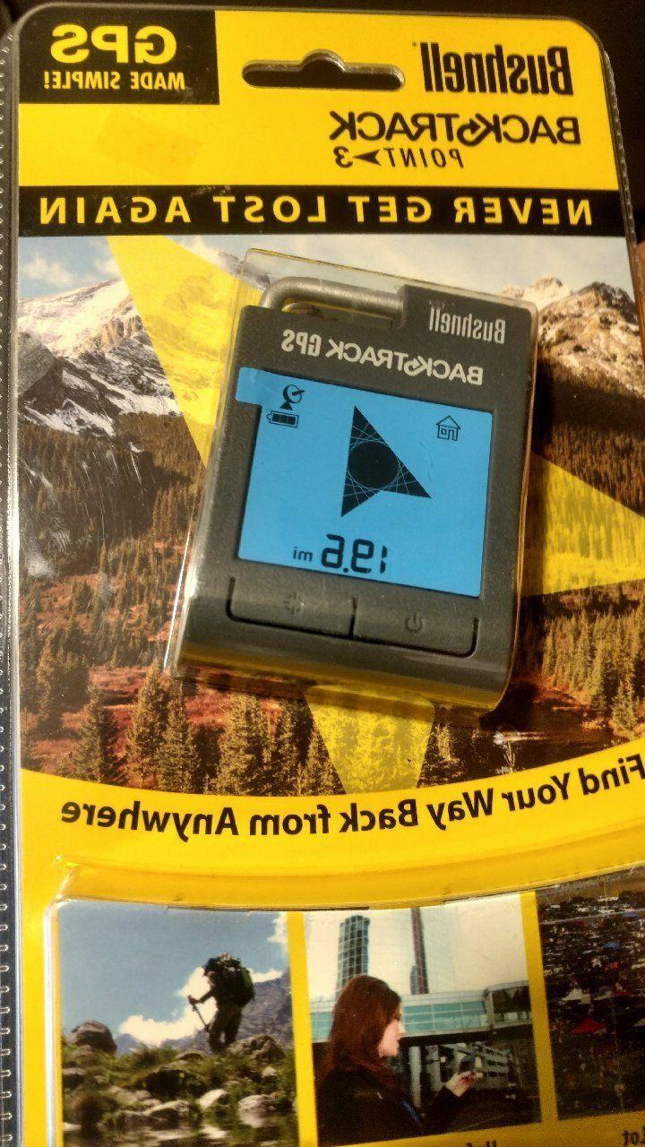 new pkg backtrack point 3 handheld gps