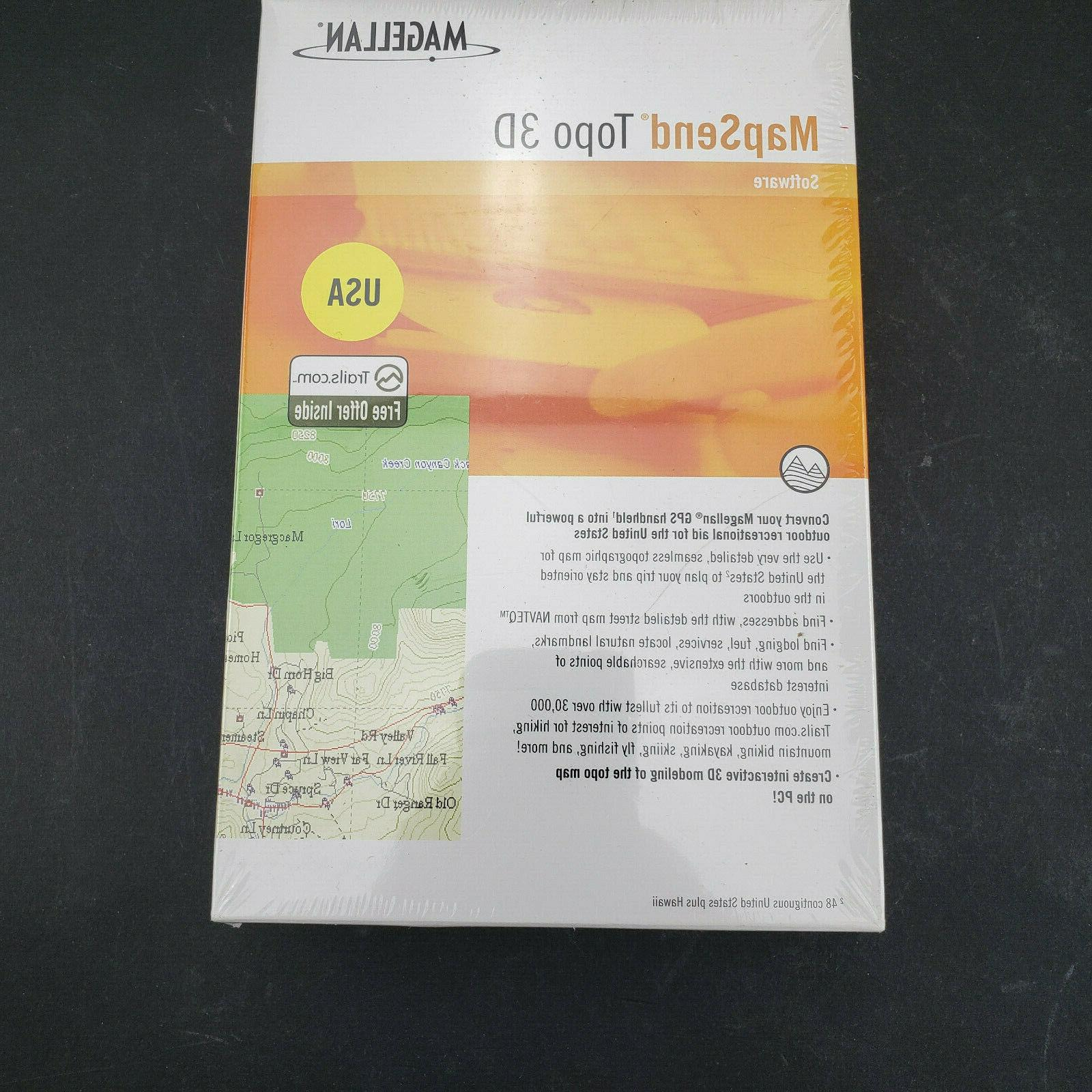 new sealed mapsend topo 3d software