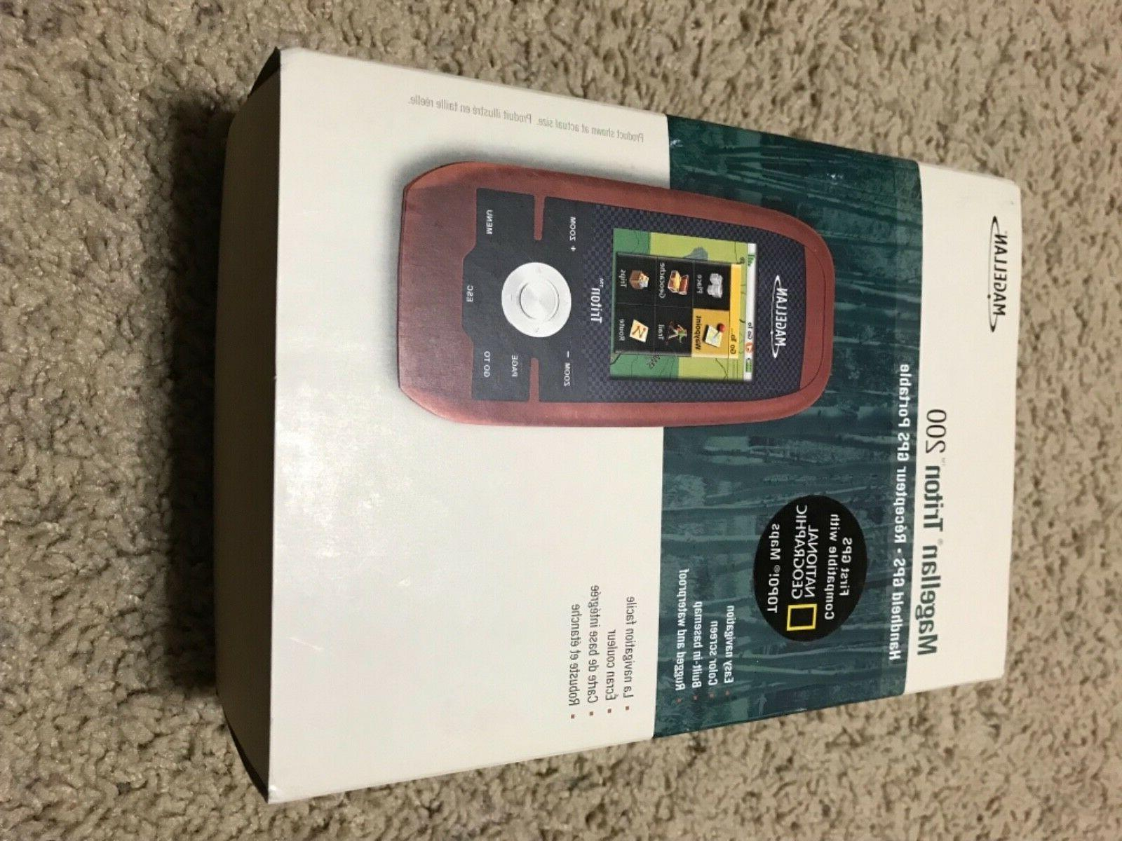 new triton 200 handheld gps waterproof