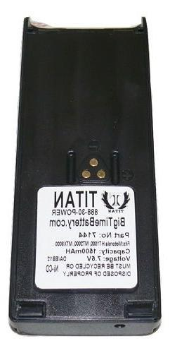 NTN7143C NTN7144 Battery for Motorola HT1000 HT-1000 MTS2000