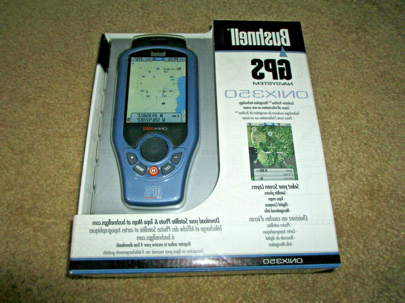 onix 350 handheld gps navsystem new