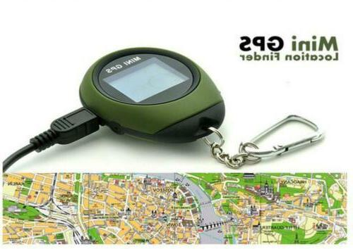 Outdoor Handheld GPS Navigation Location Finder Matrix Display
