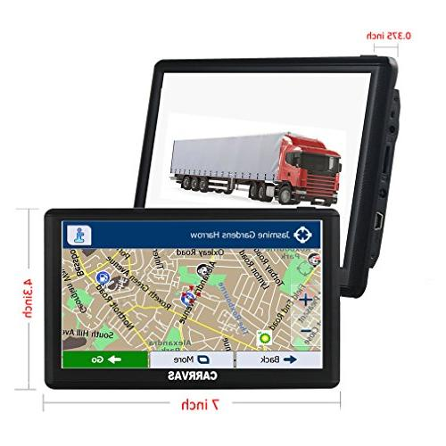 Portable Navigation with Maps