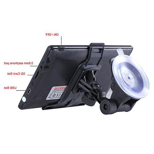 Portable Carrvas Car GPS Navigation SAT Auto with
