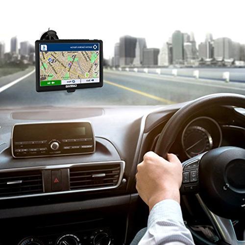 Portable GPS Navigation SAT Auto GPS Unit with free update Maps