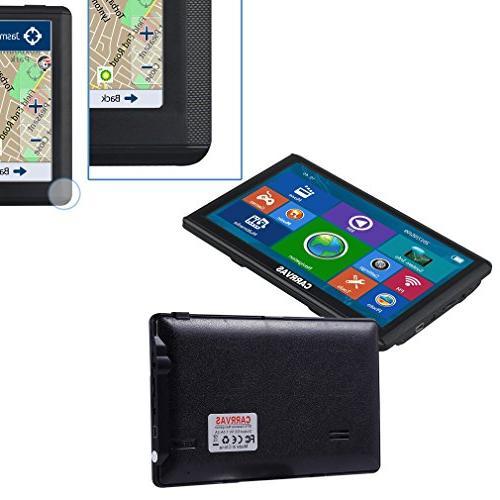 Portable Navigation SAT Auto Vehicle GPS with Lifetime free Maps