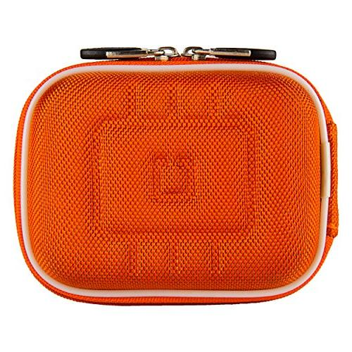 protective nylon orange eva hard